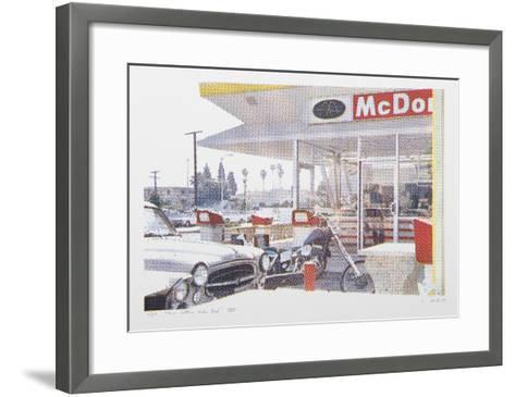 VIII - Store Front (Side) from One Culture Under God-Larry Stark-Framed Art Print