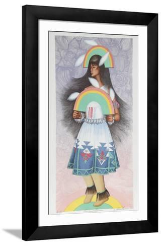 Rainbow Dancer-Alice Asmar-Framed Art Print