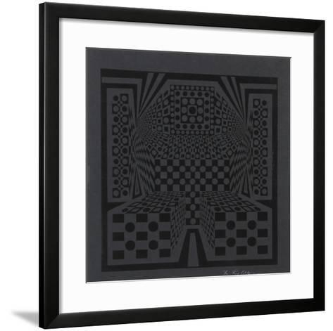 Desert Icon Exp.-Roy Ahlgren-Framed Art Print