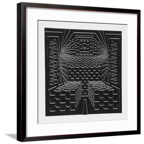 Desert Icon VI-Roy Ahlgren-Framed Art Print