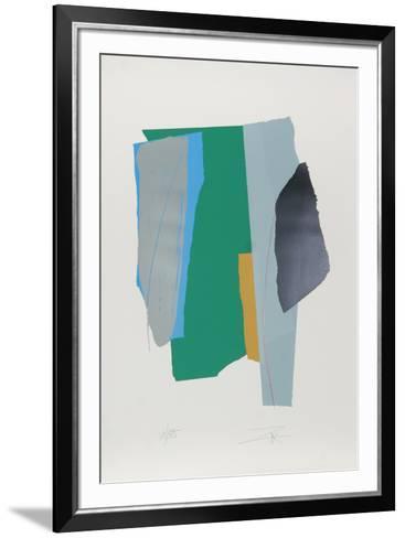 Sounds Cut II-Larry Zox-Framed Art Print
