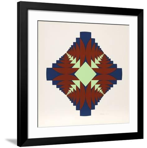 Infinitesimale Constantes 8-Ronald Abram-Framed Art Print