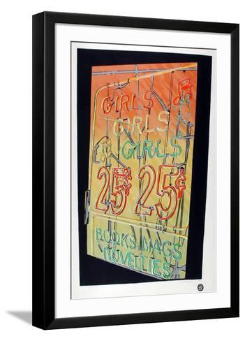 Girls, Girls, Girls-Cindy Wolsfeld-Framed Art Print