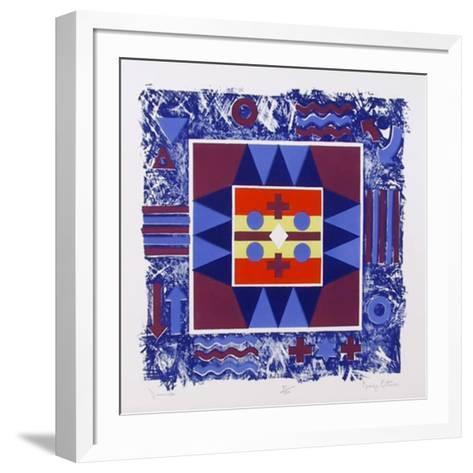 Journals-George Ortman-Framed Art Print