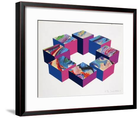 River Ring-David Milne-Framed Art Print
