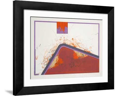 Dialogue with Mindmap 15-Kyme Sarlei-Framed Art Print