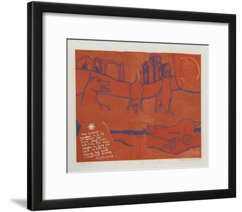 The Legend-Martin Barooshian-Framed Art Print