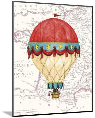 Vintage Red Air Balloon-Hope Smith-Mounted Art Print