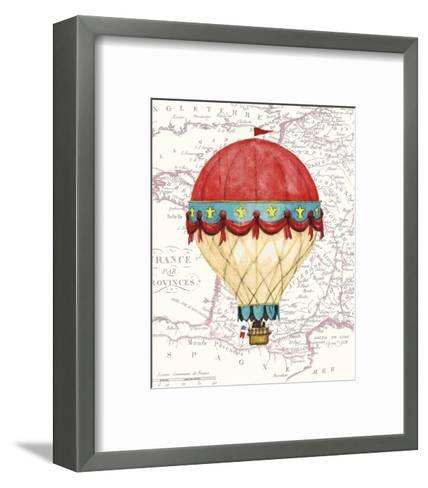 Vintage Red Air Balloon-Hope Smith-Framed Art Print
