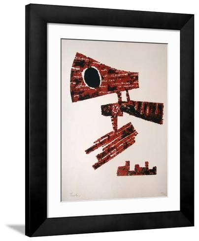 Hero?que-Berto Lardera-Framed Art Print
