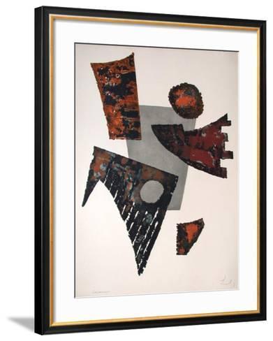 Nocturne-Berto Lardera-Framed Art Print