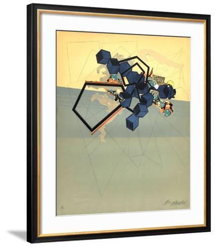 La fonte des neiges-Alain Le Yaouanc-Framed Art Print