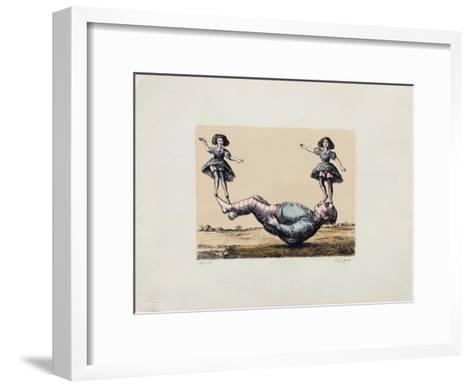La bascule-Roland Topor-Framed Art Print