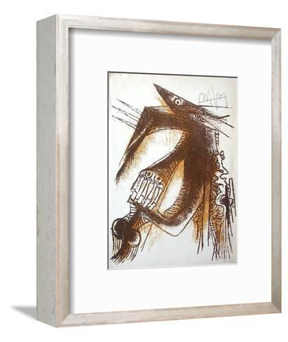 Sans titre pour la Revue Phases-Wilfredo Lam-Framed Art Print