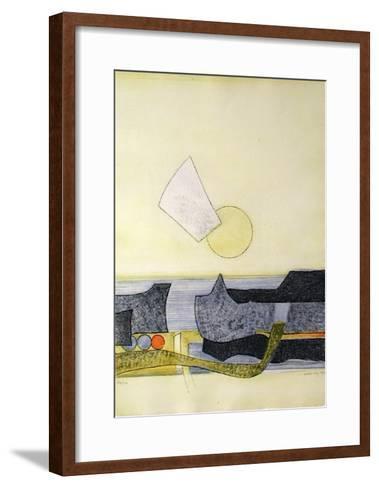 Tryptique (right)-Sigismond Kolos-Vary-Framed Art Print