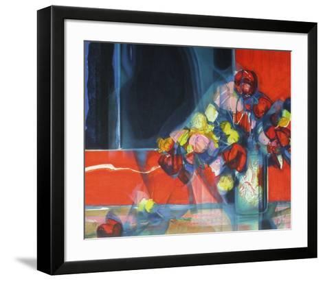 Bouquet de fleurs II-Jean-Baptiste Valadie-Framed Art Print