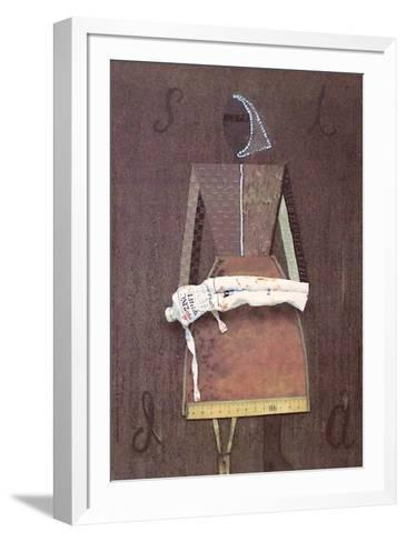 SIDA-Ren? Francisco-Framed Art Print