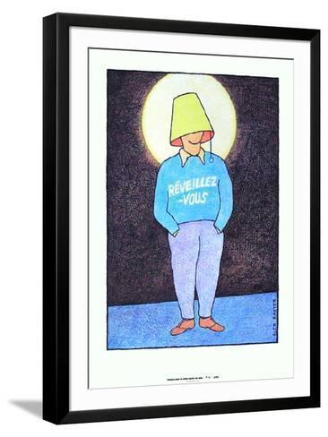R?veillez-vous-Glen Baxter-Framed Art Print