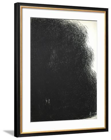 Effet de nuit-Constantin Byzantios-Framed Art Print