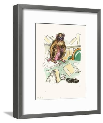 La Révolte des Anges 08 (Suite couleur)-Kees van Dongen-Framed Art Print