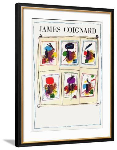Expo Vision Nouvelle-James Coignard-Framed Art Print