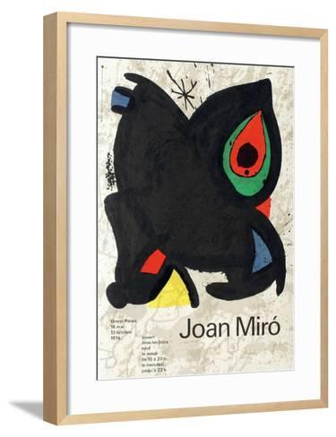 Expo 74 - Grand Palais-Joan Mir?-Framed Art Print