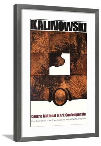 Expo 69 - CNAC-Horst Egon Kalinowski-Framed Art Print