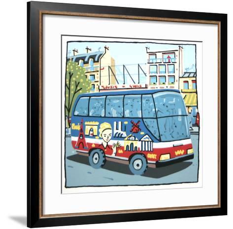 Bus-Fran?ois Boisrond-Framed Art Print