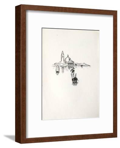 La Princesse de Babylone 35 (Suite NB)-Kees van Dongen-Framed Art Print