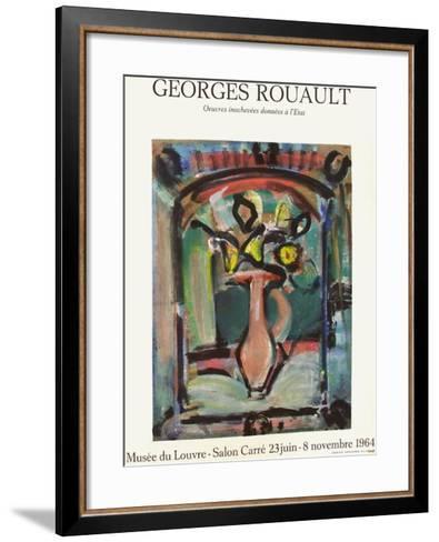 Expo Mus?e du Louvre-Georges Rouault-Framed Art Print