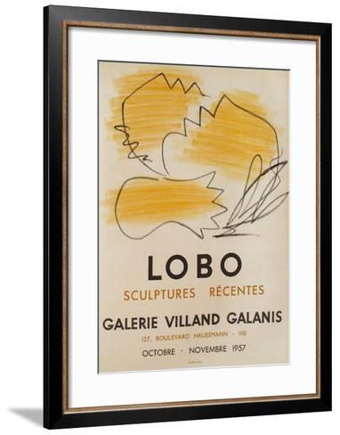 Expo Galerie Villand Galanis 58-Baltasar Lobo-Framed Art Print