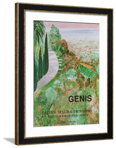 Expo 88 - Galerie des Chaudronniers-Ren? Genis-Framed Art Print