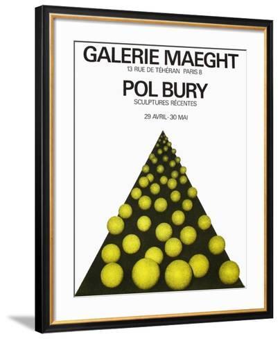 Expo Galerie Maeght 69-Pol Bury-Framed Art Print