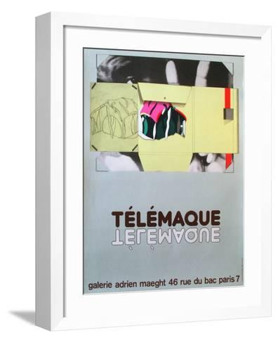 Expo Galerie Maeght 81-Herve Telemaque-Framed Art Print