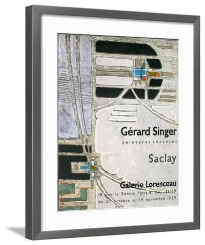 Expo 59 - Galerie Lorenceau-G?rard Singer-Framed Art Print