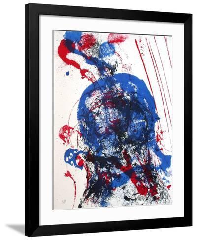 Empreintes de violoncelle-Fernandez Arman-Framed Art Print