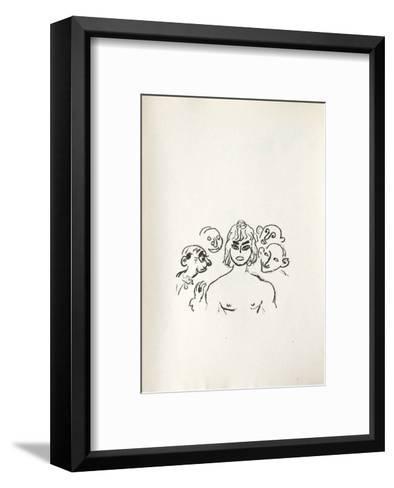 La Princesse de Babylone 37 (Suite NB)-Kees van Dongen-Framed Art Print