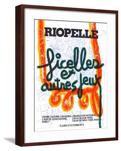 Expo 72 - Centre Culturel Canadien-Jean-Paul Riopelle-Framed Art Print