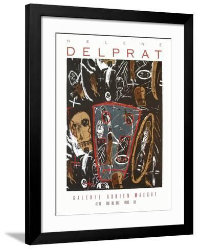 Expo Galerie Maeght 87-H?l?ne Delprat-Framed Art Print