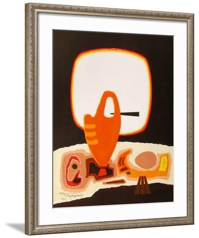 Nature morte VII-Antonio Guanse-Framed Art Print