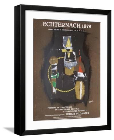 Expo Echternach-Johnny Friedlander-Framed Art Print