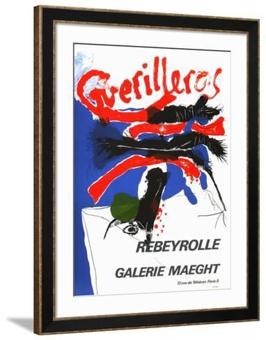 Expo Galerie Maeght 69-Paul Rebeyrolle-Framed Art Print