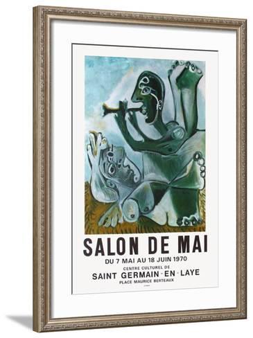Expo 70 - Salon de Mai-Pablo Picasso-Framed Art Print
