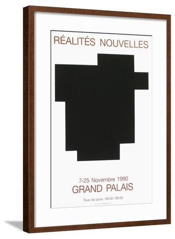 Salon des R?alit?s Nouvelles-Aur?lie Nemours-Framed Art Print