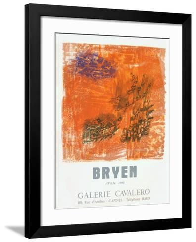 Expo 68 - Galerie Cavalero-Camille Bryen-Framed Art Print