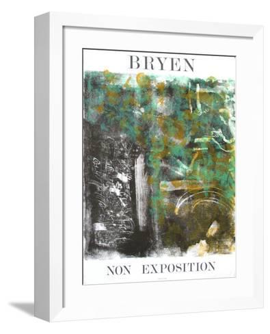 Expo 75 - Non Exposition-Camille Bryen-Framed Art Print