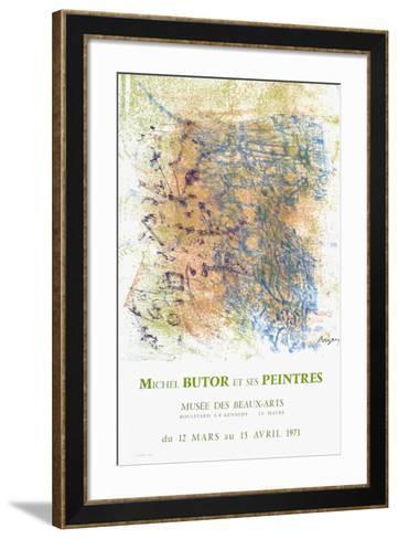 Expo 73 - Mus?e du H?vre-Camille Bryen-Framed Art Print