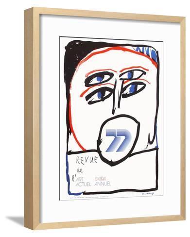 Expo 064 - Revue de l'Art Actuel-Pierre Alechinsky-Framed Art Print