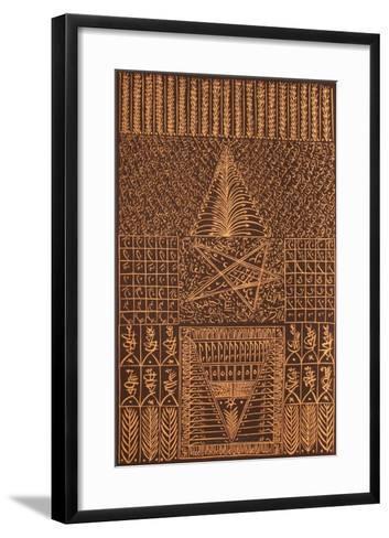 Hommage ? Sidi Abdelkader Jilali VII-Rachid Koraichi-Framed Art Print