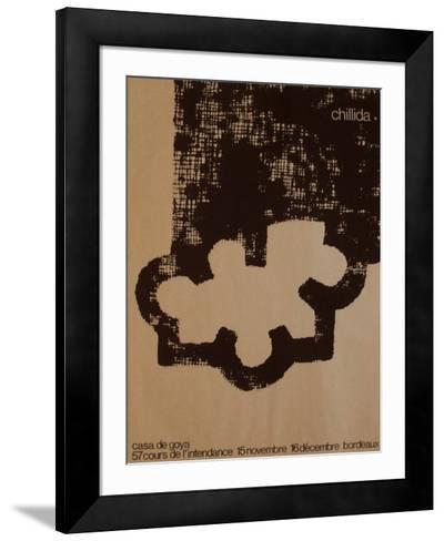 Expo 83 - Casa de Goya-Eduardo Chillida-Framed Art Print